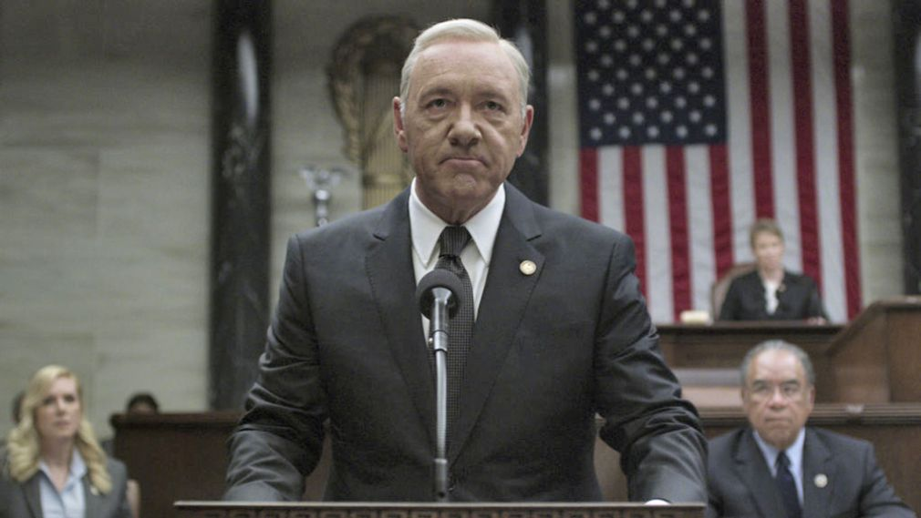 Kvin Spacey en House of Cards